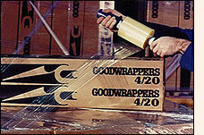 GOODWRAPPERS SR (small rolls)stabilize loads as they are built, moved around the wa=earhouse, or shipped across town.